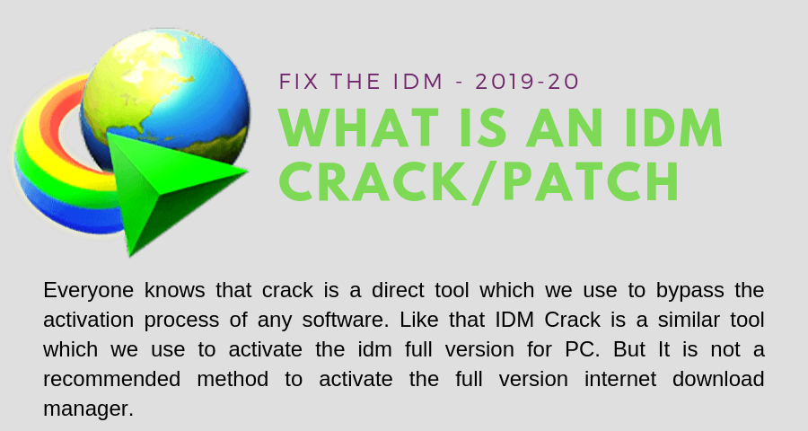 IDM Crack/Patch|Serial Number/Key