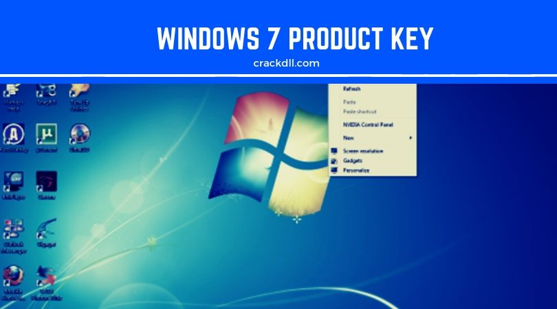 windows 7 product key by cracked software
