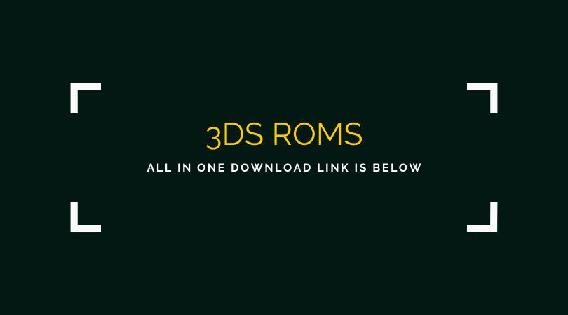 3DS ROMS