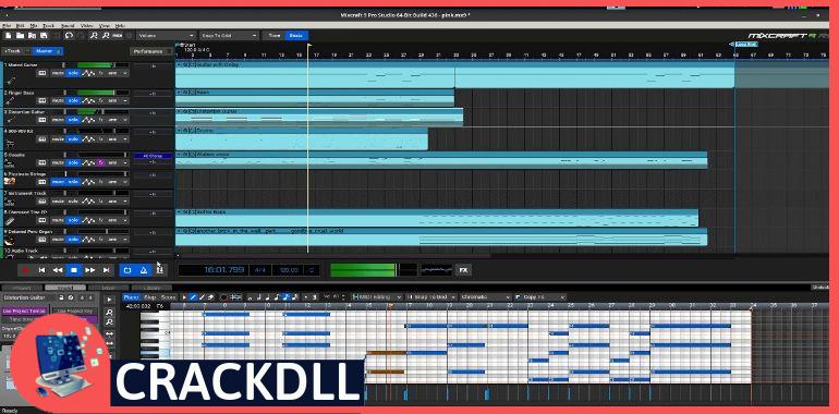 Acoustica Mixcraft Recording keygen