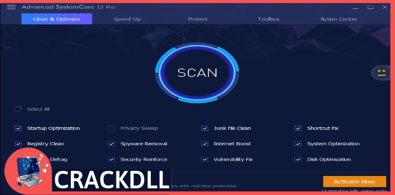 Advanced SystemCare Pro Product Key