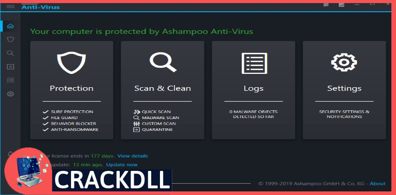 Ashampoo Antivirus Product Key