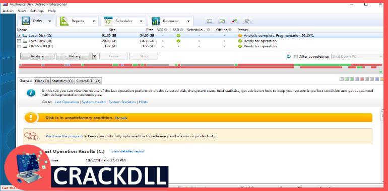 Auslogics Disk Defrag PRO Product Key