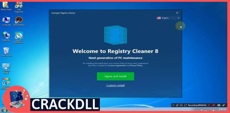 Auslogics Registry Cleaner Professional keygen