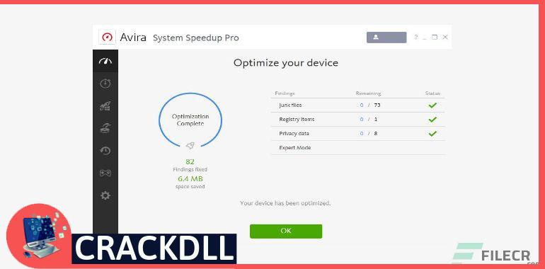 Avira System Speedup Pro keygen
