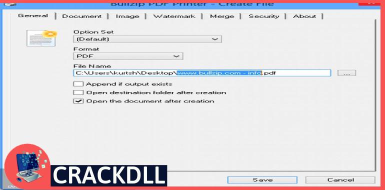 BullZip PDF Printer Expert keygen