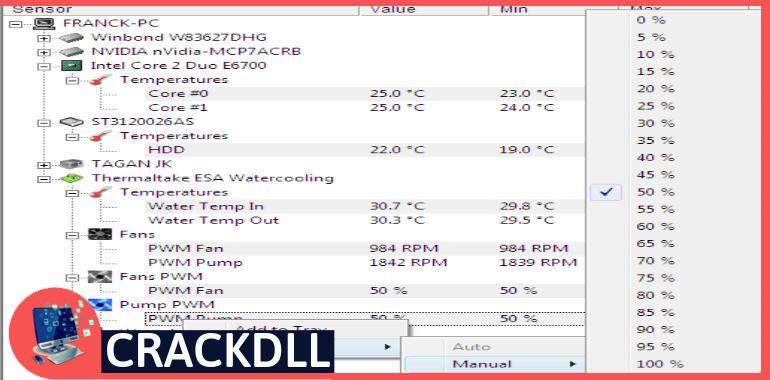 CPUID HWMonitor Pro keygen