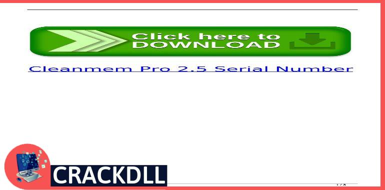 CleanMem Pro keygen