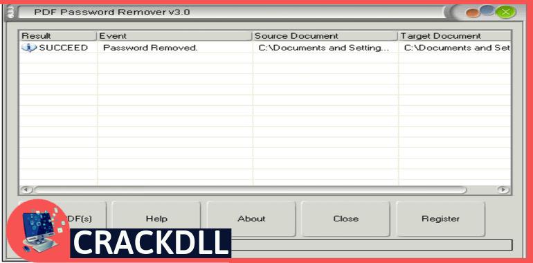 Free PDF Password Remover keygen