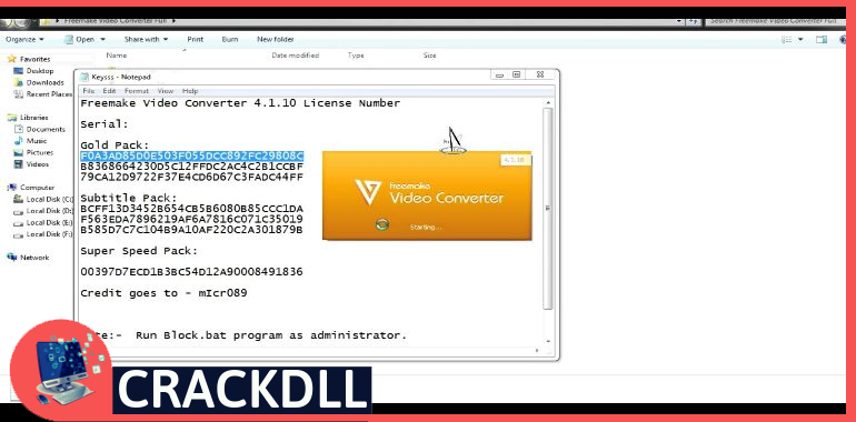Freemake Video Converter Gold Activation Code