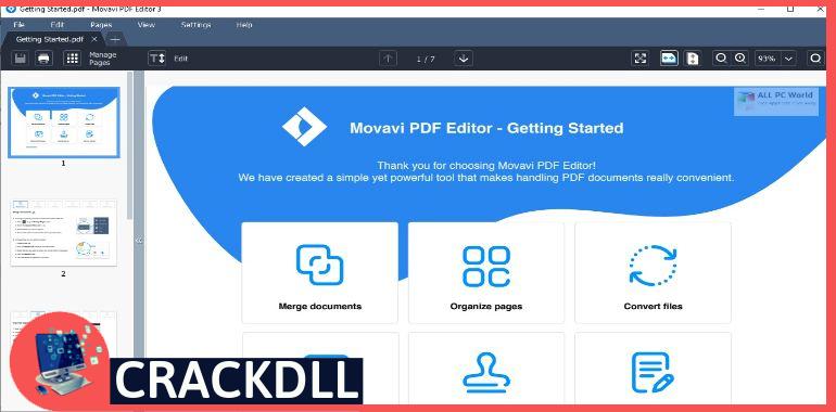 Movavi PDF Editor Product Key