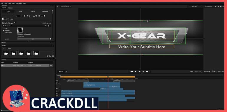 NewBlueFX Titler Pro 7 keygen