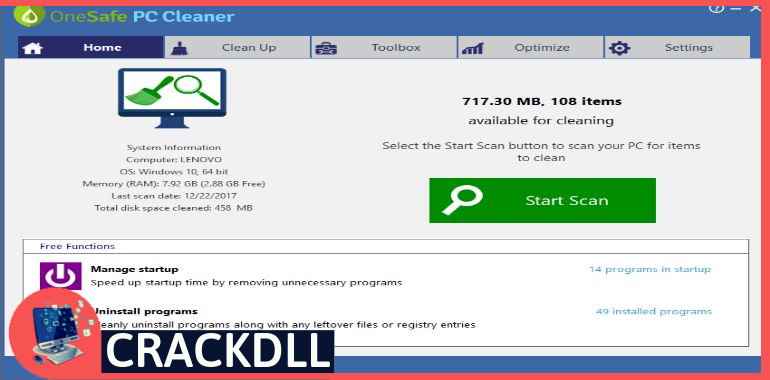 PC Cleaner Pro keygen