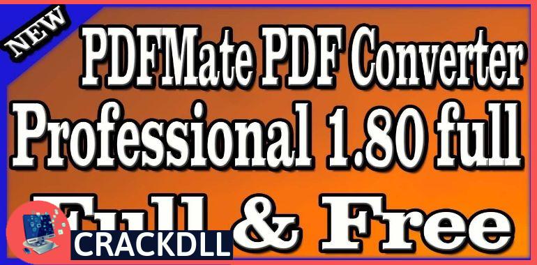 PDFMate PDF Converter Professional Product Key