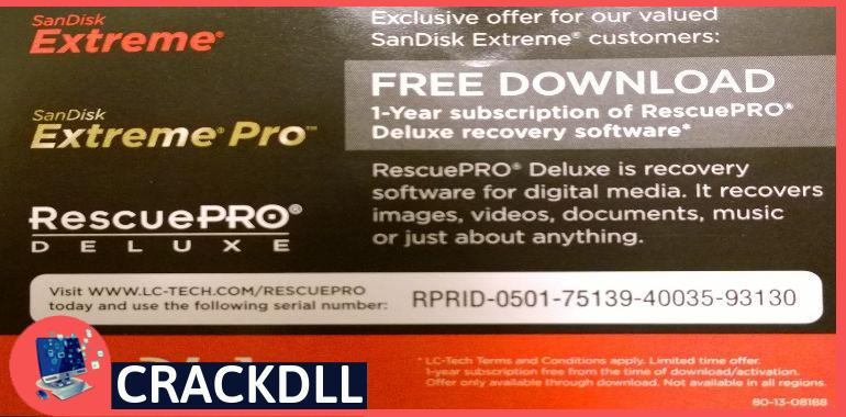 SanDisk RescuePRO Product Key
