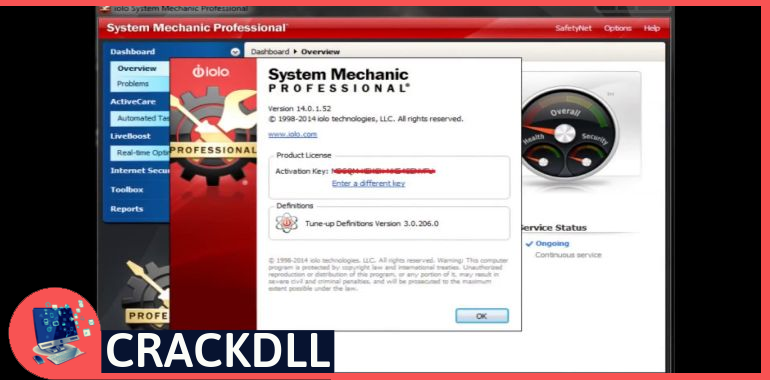System Mechanic Professional Product Key