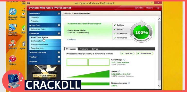 System Mechanic Professional keygen