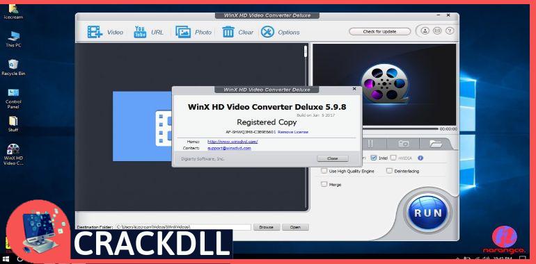 WinX HD Video Converte Activation Code