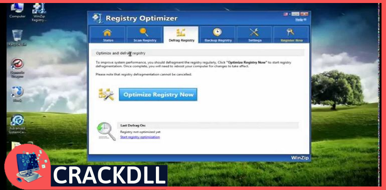 WinZip Registry Optimizer Activation Code