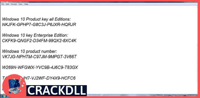 Windows 10 Cd Key keygen