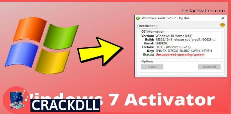 Windows 7 Activator Activation Code