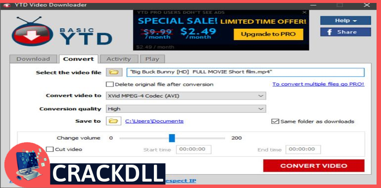 YTD Video Downloader Activation Code