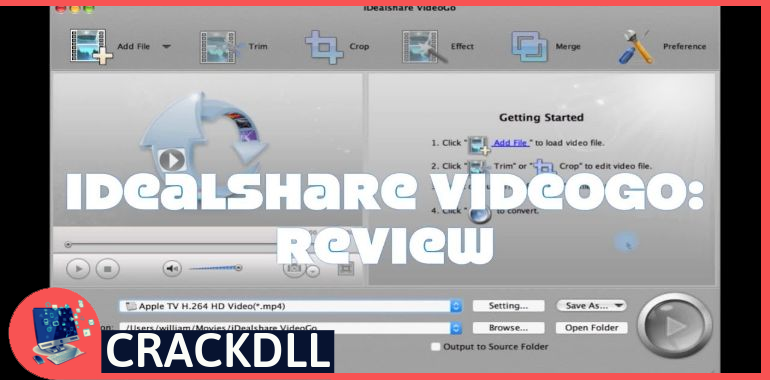 iDealshare VideoGo Product Key
