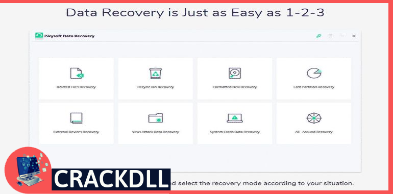 iSkysoft Data Recovery Product Key