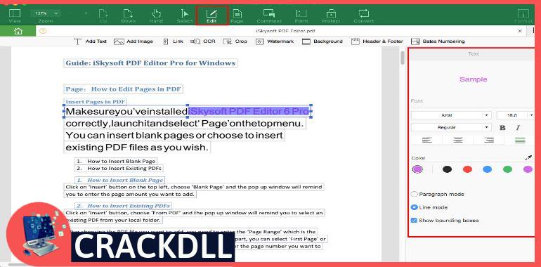 iSkysoft PDF Editor Pro Product Key